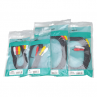 AV:Link 3 x RCA Plugs to 3 x RCA Plugs Lead - 1.2m (1.2m - 5m lengths available)