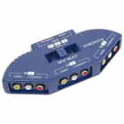 AV:Link 128.553UK 3-way Audio/Video Input Selector