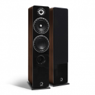 Elipson Prestige Facet 14F Floor Standing Speaker - Black/Walnut