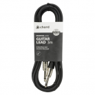 Qtx Standard Guitar 6.3mm Mono Jack Lead - 3m (3m - 6m lengths available)