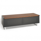 EOL Techlink Panorama 120 DUAL Sided Top (Walnut or Black) in One Stand!