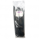 CTIE44280/BLK 4.4mm x 280mm Plastic Cable Ties, Black (pack of 100)