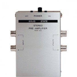 E-Audio Stereo Phono Pre-Amplifier (Battery Powered)