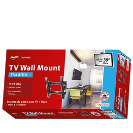 AVF AL210Q Flat to Wall TV Wall Mount with Tilt VESA 200x200