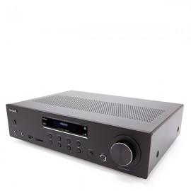 AIWA AMU-120BTBK 120W RMS Stereo Amplifier with Bluetooth v5.0 - Black