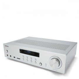 AIWA AMU-120BTBK 120W RMS Stereo Amplifier with Bluetooth v5.0 - Silver