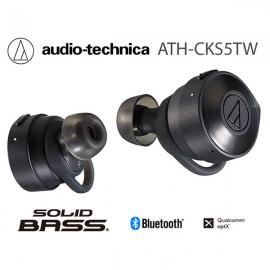 NEW Audio Technica ATH-CKS5TW Solid Bass TrueWireless In- Ear Headphones