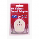 Red Grey Visitor Travel Adapter B51P
