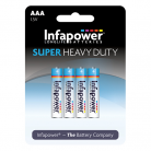 Infapower B751 4 x AAA Super Heavy Duty Batteries