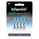 Infapower B752 4 x AA Super Heavy Duty Batteries