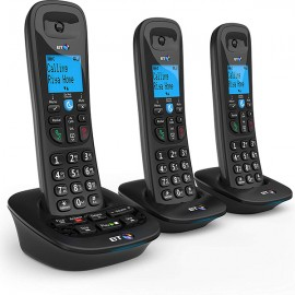 BT3950 DECT Phone with Nuisance Call Blocker and Answer Machine - Trio