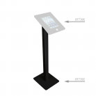 B-Tech BT7392 Tablet Enclosure Floor Stand