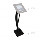 B-Tech BT7393 Tablet Enclosure Curved Floor Stand