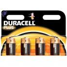 Duracell D Size - MN1344 Plus Range Batteries - 4 Pack