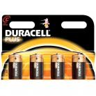 Duracell C Size - MN1444 Plus Range Batteries - 4 Pack
