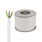 E492 Round 3 Core 1.5mm PVC Flex 15A - White