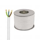 E492 Round 3 Core 1.5mm PVC Flex 15A - White