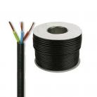 E492B Round 3 Core 1.5mm PVC Flex 15A - Black