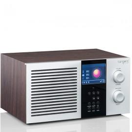 Tangent Elio Mono DAB & Internet Radio with Bluetooth, DLNA and Spotify - Walnut