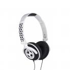 KitSound Doodle Children's Volume Limiting On-Ear Headphones - Football