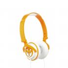 KitSound Doodle Volume Limiting On-Ear Headphones - Fox