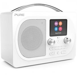 PURE Evoke H4 Prestige Edition DAB/DAB+ & FM Radio with Bluetooth - White