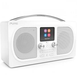 PURE Evoke H6 Prestige Edition DAB/DAB+ & FM Radio with Bluetooth - White