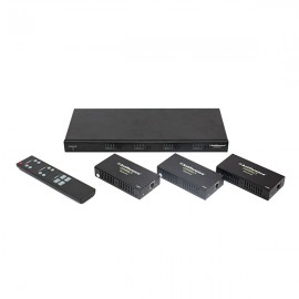 Antiference 4K HDBaseT Matrix Kit (incl. 3 x Receivers) HDCP2.2 Support