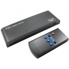 3 Way 18Gbps HDMI2.0 HDCP2.2 Switch with Remote