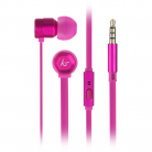 KitSound KSHIVBPI Hive In-Ear Headphones with In-Line Microphone - Pink