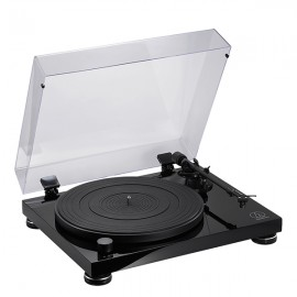 Audio-Technica AT-LPW50PB Fully Manual Belt-Drive Turntable - Piano Black