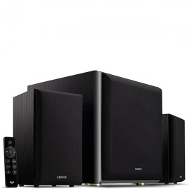 EDIFIER M601DB 2.1 System with BT v5.1 & Powerful Wireless Subwoofer - Black