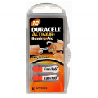 Duracell Size 13 Hearing Aid Batteries - Pack of 6
