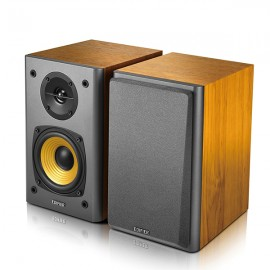 EDIFIER R1000T4 Ultra-stylish Active Bookshelf Speakers - Wood