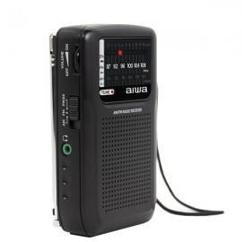AIWA RS-33 Pocket AM/FM Radio with Q-Design Earphones