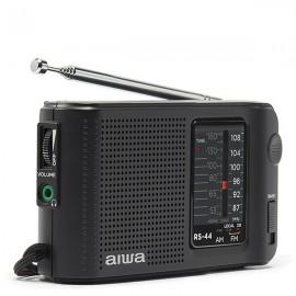 AIWA RS-44 Pocket AM/FM Radio with Aiwa-Q Design Earphones