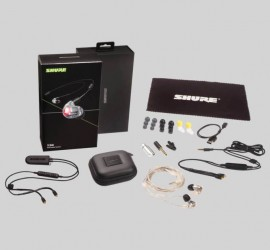 Shure SE846-CL+BT2 Clear, Bluetooth 5.0 with UNI & Straight Cable