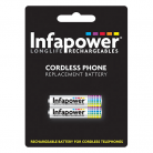 Infapower T003 2 x AA 1.2v 1300mA Cordless Telephone Batteries