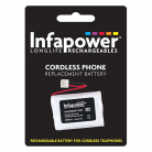 Infapower T006 3 x AAA 3.6v 600mAh Cordless Telephone Battery