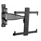 "NEW Sanus VMF720-S2 Medium Full Motion Mount for TV's 32-55"" - Stainless Steel"