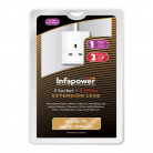 Infapower 1 Gang Extension Lead (2m - 5m lengths available)
