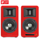 Airpulse A100 Active Speaker System - Red