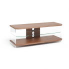 Techlink Air AV Stand for Screens up to 55 - Walnut