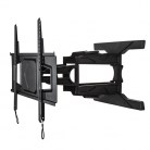 B-Tech BT8225B Ultra-Slim Wall Mount with Cantilever Arms - Black