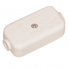 Electrovision E301EA 2 Way In-Line 5A Junction - White