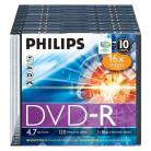 Philips DVD-R 10x Blank Discs